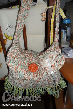 сумка для Инны в стиле child-hippy!