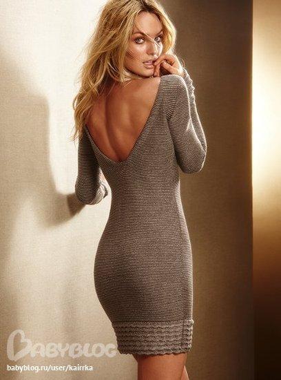 Victorias secret вязаные платья