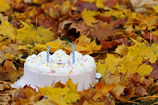 картинки осенний день рождения