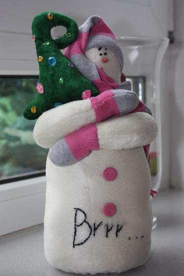 Как сделать из флиса снеговика - Ubolussur.ru