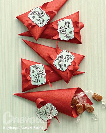 Как сделать шапочку конфетки