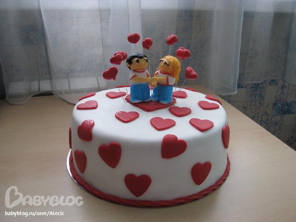 торт мужу на годовщину свадьбы 1 год рецепты