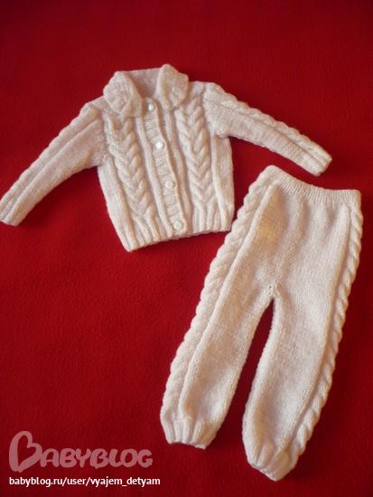 Вязание для детей штанишки фото