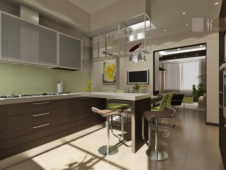 Дизайн офиса в 12 квадратных 980