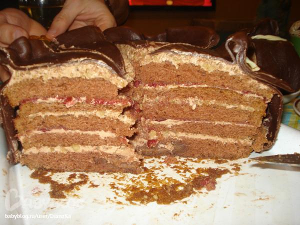 Торт анжела дэвис со смородиной рецепт
