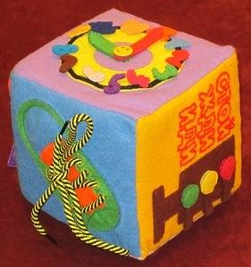 Развивающий кубик для ребенка своими руками мастер класс 25
