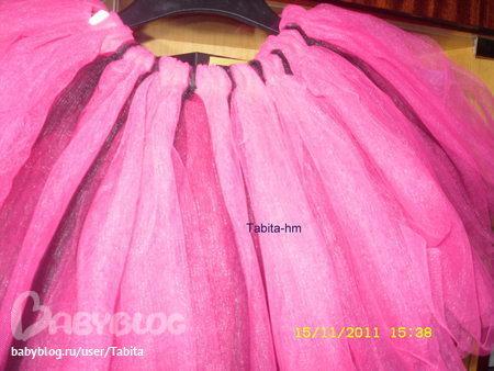 Сколько нужно фатина на юбку стола