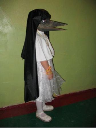 папа сделал костюм канарейки фото