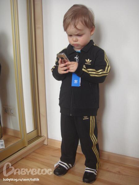 Спортивный костюм Adidas(Адидас). Рост 104-110 см. БРОНЬ - Babyblog.ru
