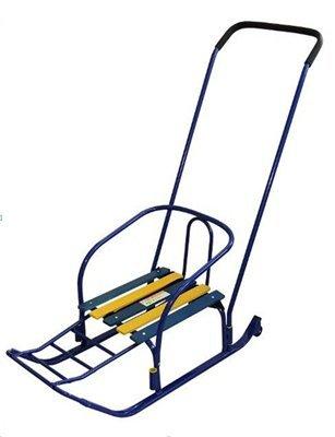 Также рассмотрю вариант обычных санок с колесиками.  115x1