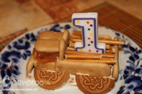 Рецепт торта ребенку на 1 год