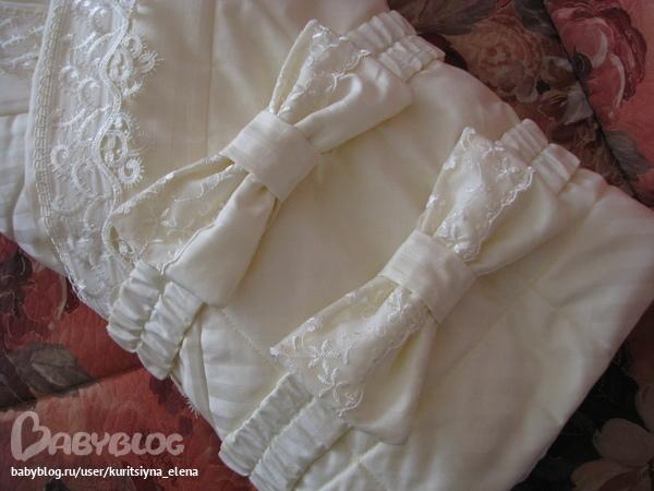 Вяжем для новорожденного конверт 12