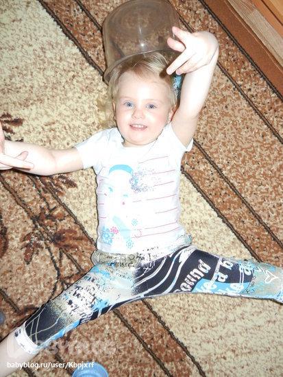Маша нашему малышке сшила новые штанишки 88