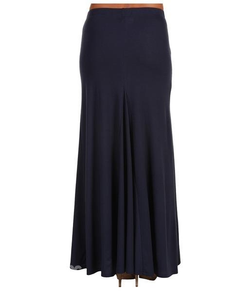 Серая юбка с кружевом 3