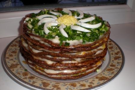 Рецепты торт печеночный в домашних условиях с фото