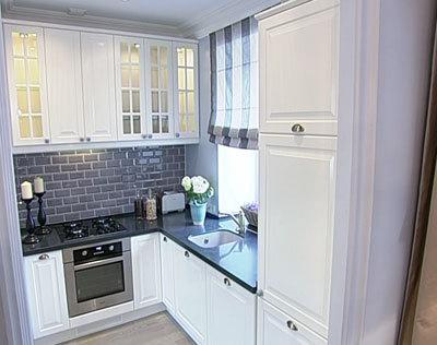 Кухня дизайн интерьера 9 кв м