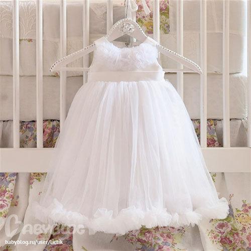 Как сшить пышное платье на годовалую девочку 19
