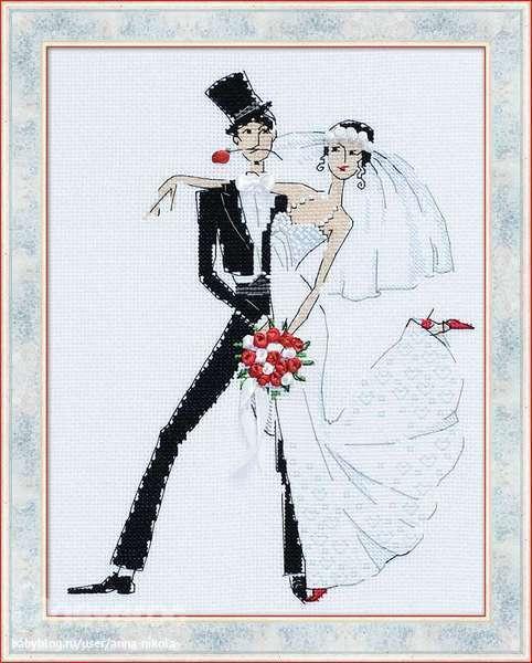 """Схема Риолис """"Свадебное танго"""""""