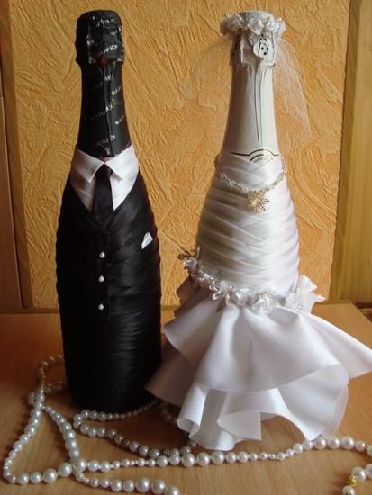 Мастер класс бутылки шампанского своими руками