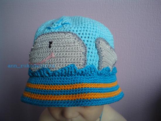 мк вязания шапочек для мальчиков автором Вася