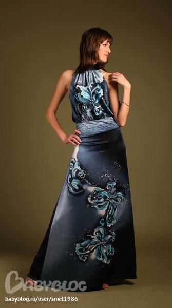 Платья сарафаны из шелка