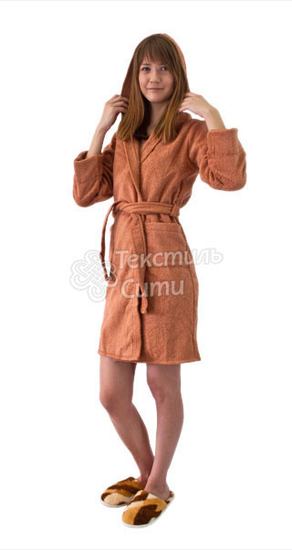 Выкройка мохрового халата