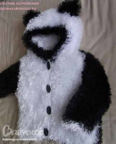 Панда вязание для детей 27