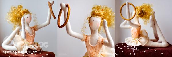 Кукла гимнастка своими руками 87