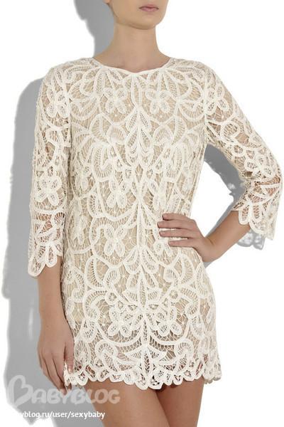 Ажурное платье купить москва