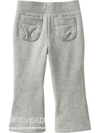Детские штаны и брюки Old Navy Jersey-Fleece Cinched-Pocket Pants for...