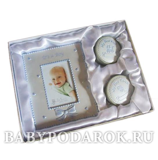 Подарок новорожденному от бабушки и дедушки