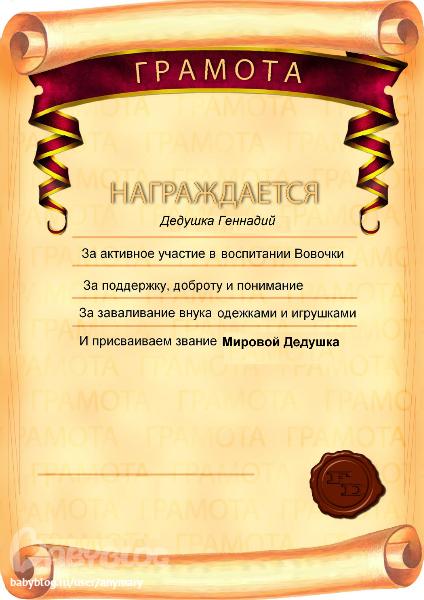 Контур поздравления с днем рождения