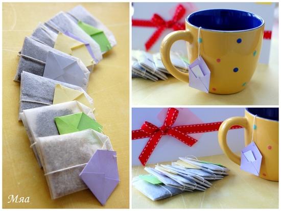 Как сделать пакетик для чая своими руками 41