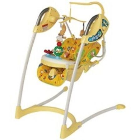 Продаются электронные детские качели Венера б/у после одного ребенка.