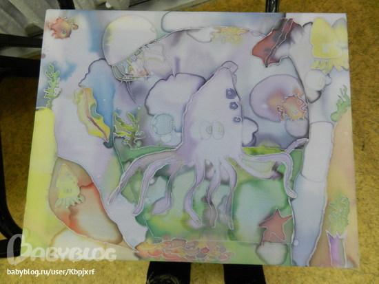 Рисовать батиком по ткани