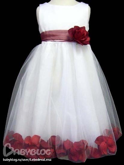 Нарядная платья для девочек из сша