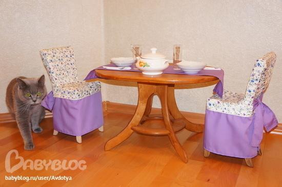 Столики и стульчики для кукол