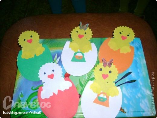 Аппликация своими руками в детском саду