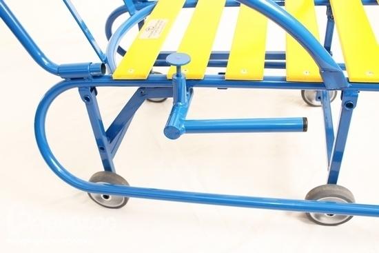 Санимобиль - cанки нового поколения, санки детские с колесиками.