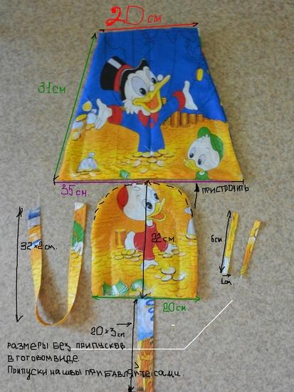 Как сшить чехол для детской коляски 346