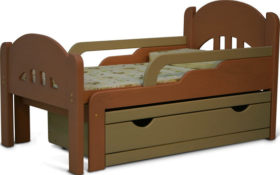 Выкатные ящики (2 или 3 шт.) или выкатную кровать.