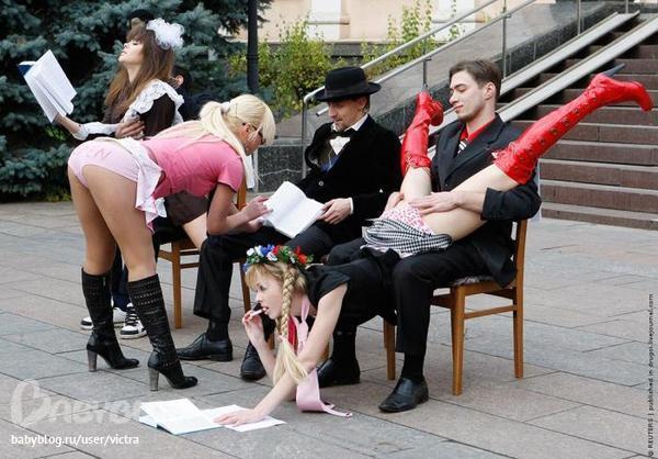 Выступления проституток
