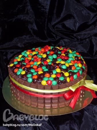 Украсить торт для подростка своими руками