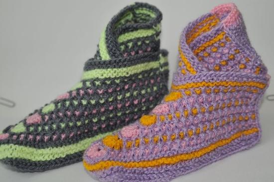 Вязание пинеток на взрослых