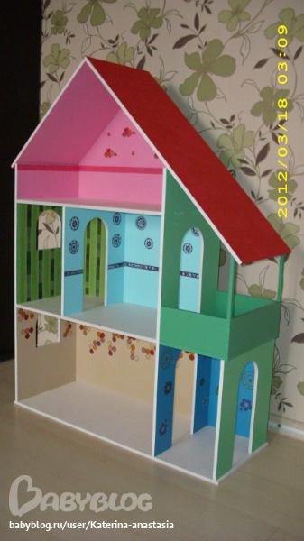 Дом кукол барби своими руками видео фото 252