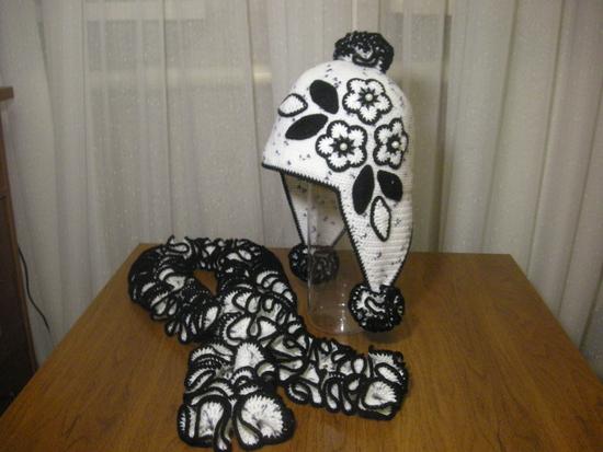 """шарф """"Вивьен"""". image image"""