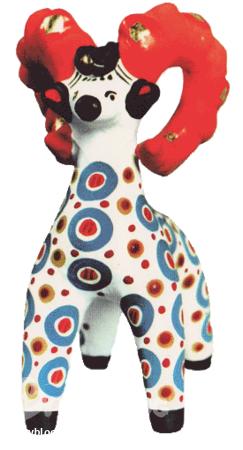 знакомство с искусством дымковская игрушка