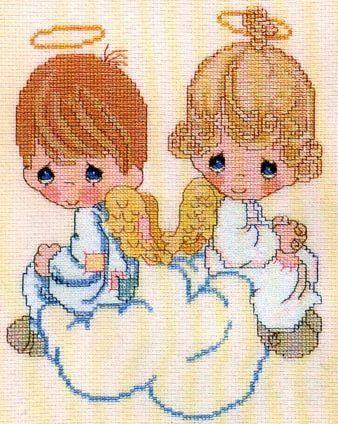 Ангел с малышом так и