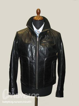 куртки кожаные мужские в Москве