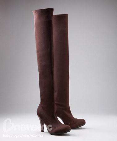 Продам сапоги-чулки р. 39 (американский 9) цвет коричневый как на первом...